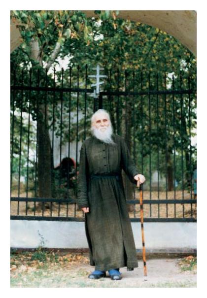 отец Никоай (Гурьянов) на Острове